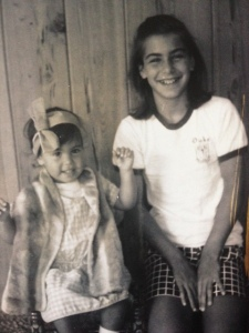 My sister loved to dress me up- and I still  dress this way as an adult, so thanks for that, Renee!